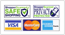we accept Visa MasterCards American Express