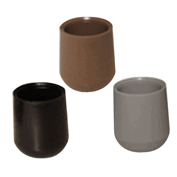 Metal Square Furniture Leg Caps Metal Table Leg Caps